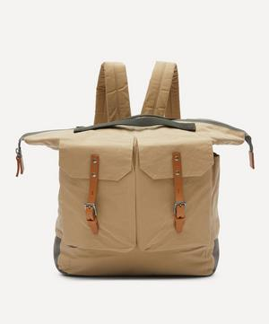 Frank Large Waxed Cotton Backpack