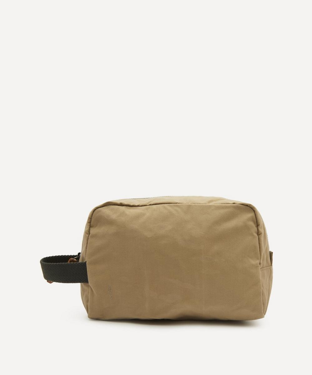 Ally Capellino - Simon Waxed Cotton Washbag