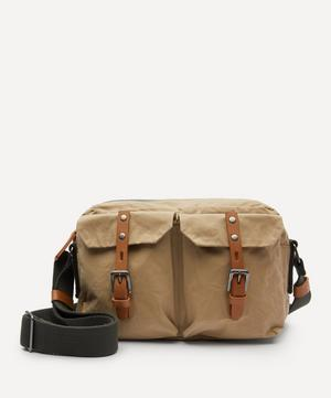 Franco Waxed Cotton Crossbody Bag