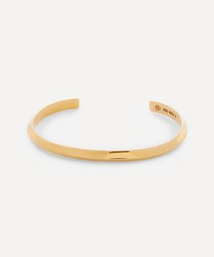 Gold Plated Vermeil Silver Triangle Bracelet