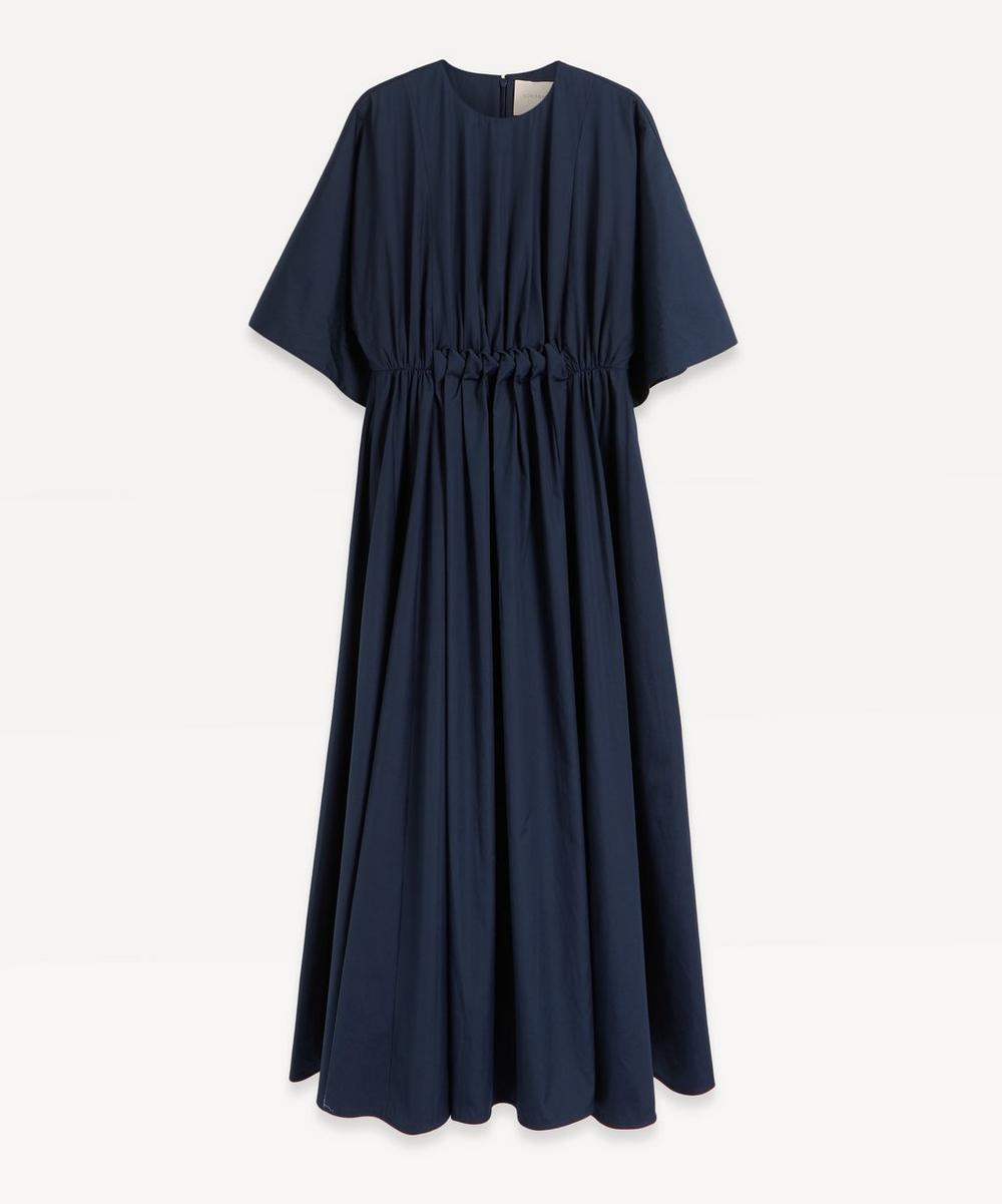 Roksanda - Manu Cotton-Poplin Gathered Dress