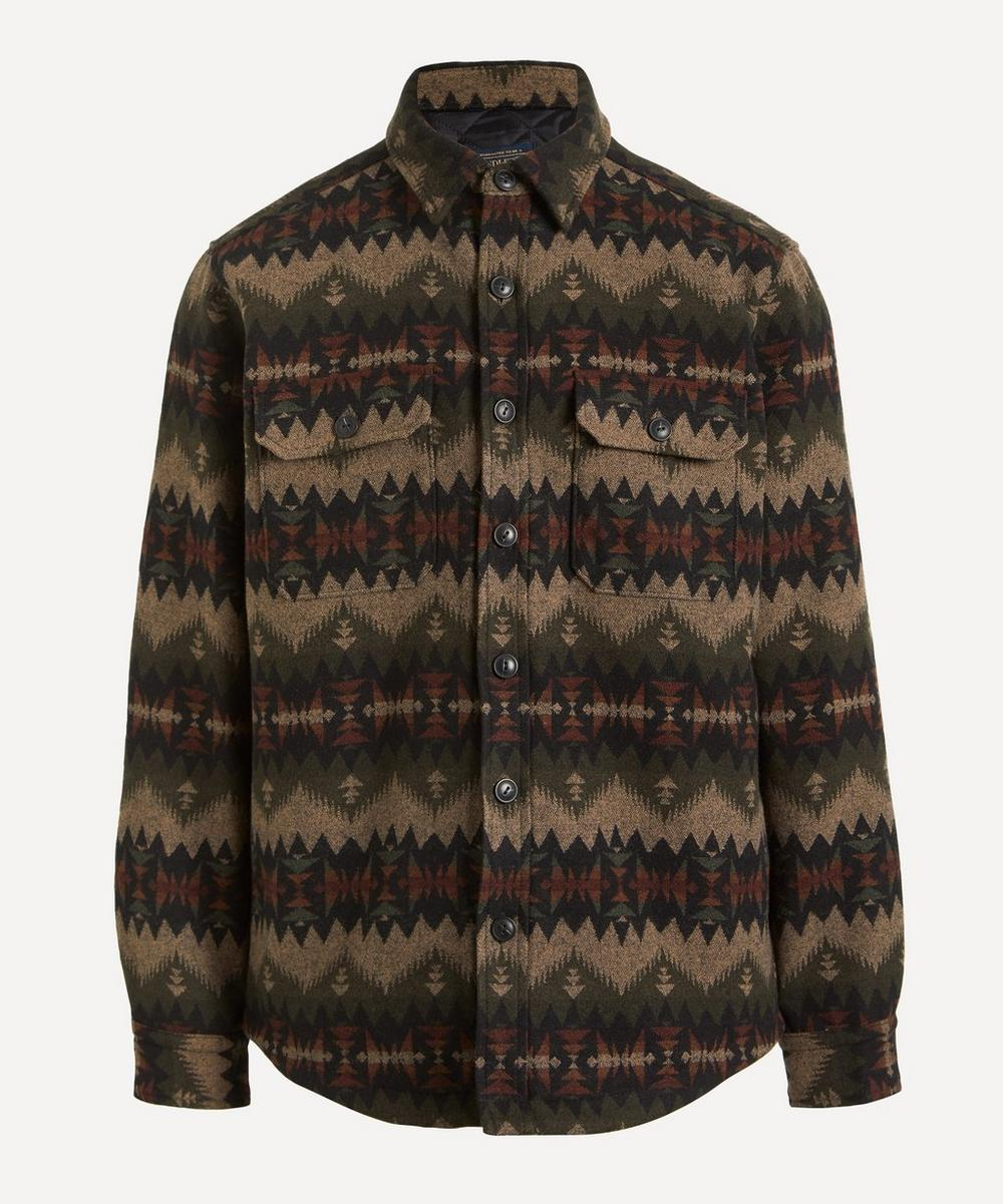 Pendleton - Jacquard Wool Shirt-Jacket