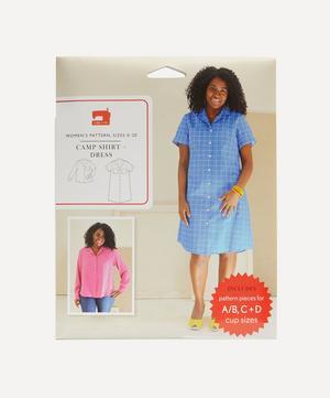 Camp Shirt and Dress Sewing Pattern