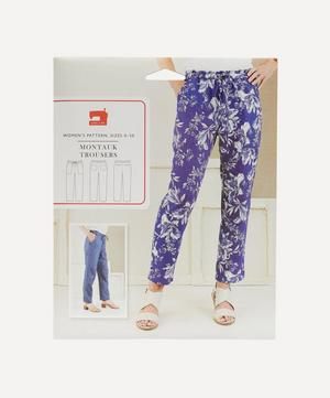 Montauk Trousers Sewing Pattern