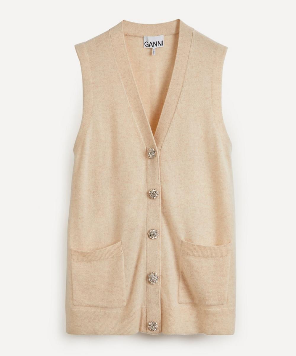 Ganni - Oversized Cashmere Vest