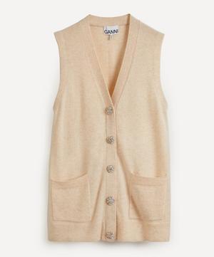 Oversized Cashmere Vest