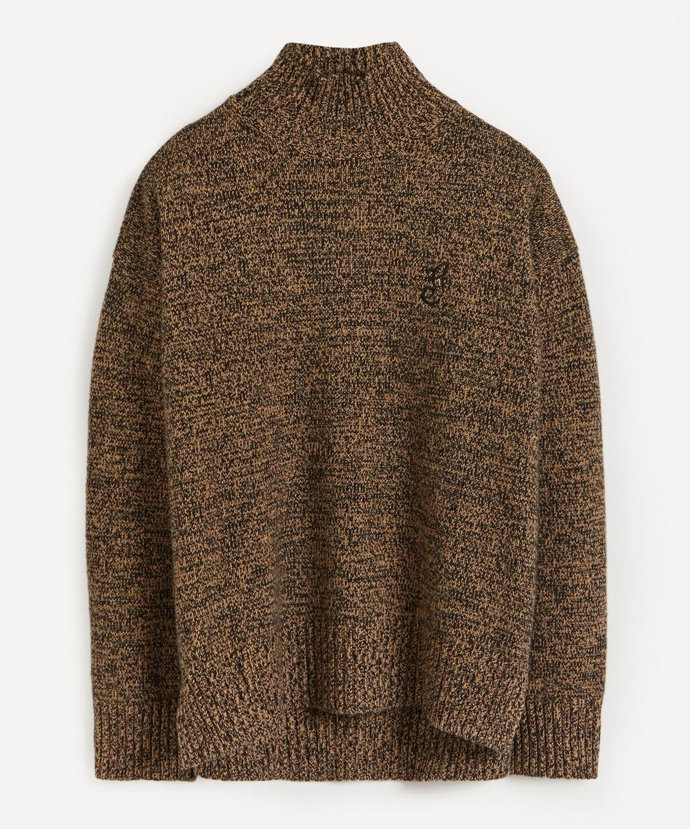 Ganni - High-Neck Cashmere-Blend Jumper