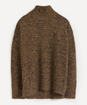 High-Neck Cashmere-Blend Jumper