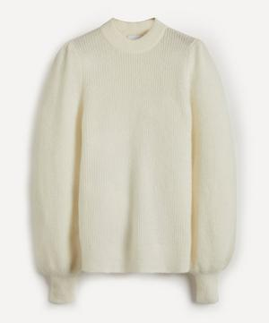 Merino Wool-Blend Knit Jumper