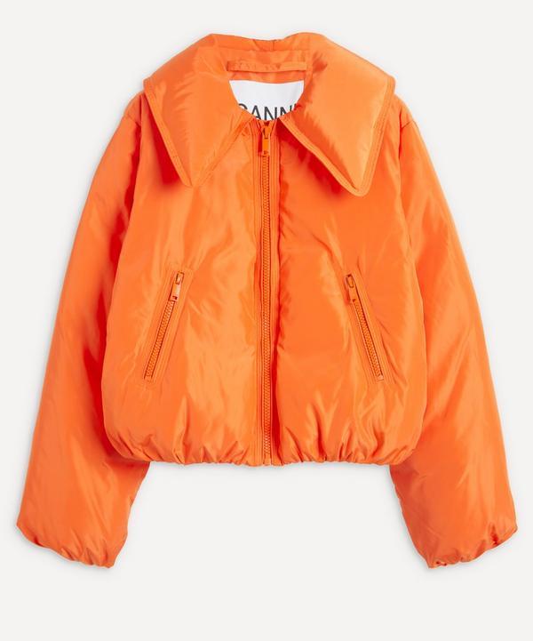 Ganni - Crop Tech Down Jacket