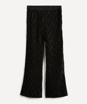 Pleated Satin Trousers