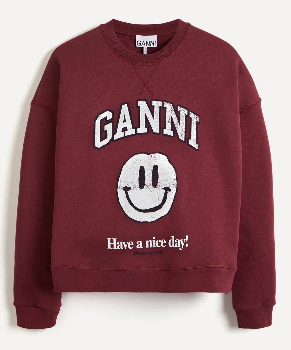 Ganni - Ganni Face Logo Sweater