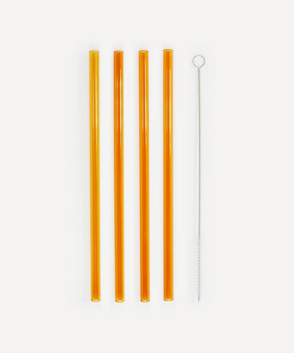 Soho Home - Avondale Glass Straws Set of Four image number 0