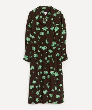 Tailored Floral Eco Shirt-Dress