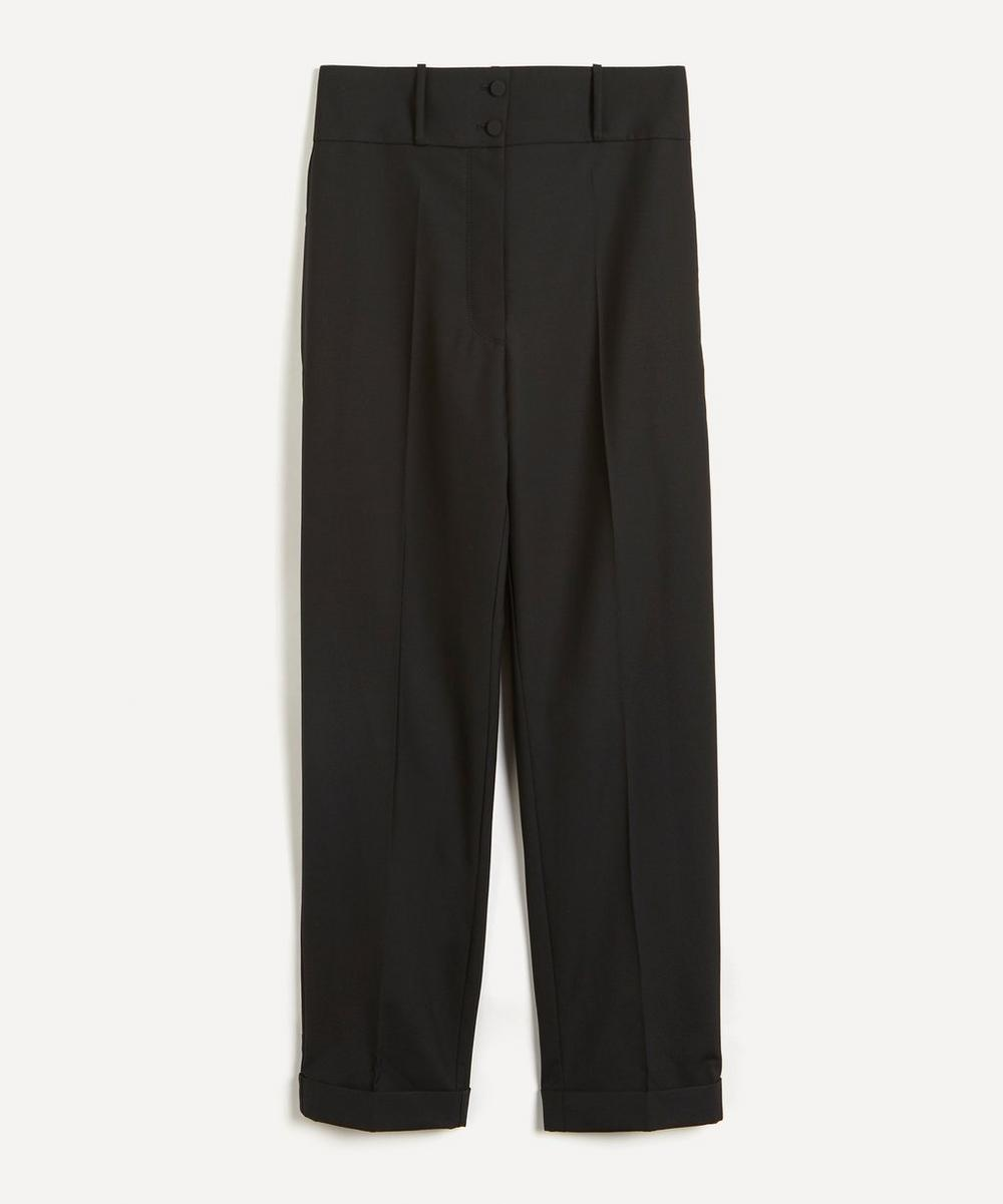 Roksanda - Medea Super High-Rise Wool Tuxedo Trousers