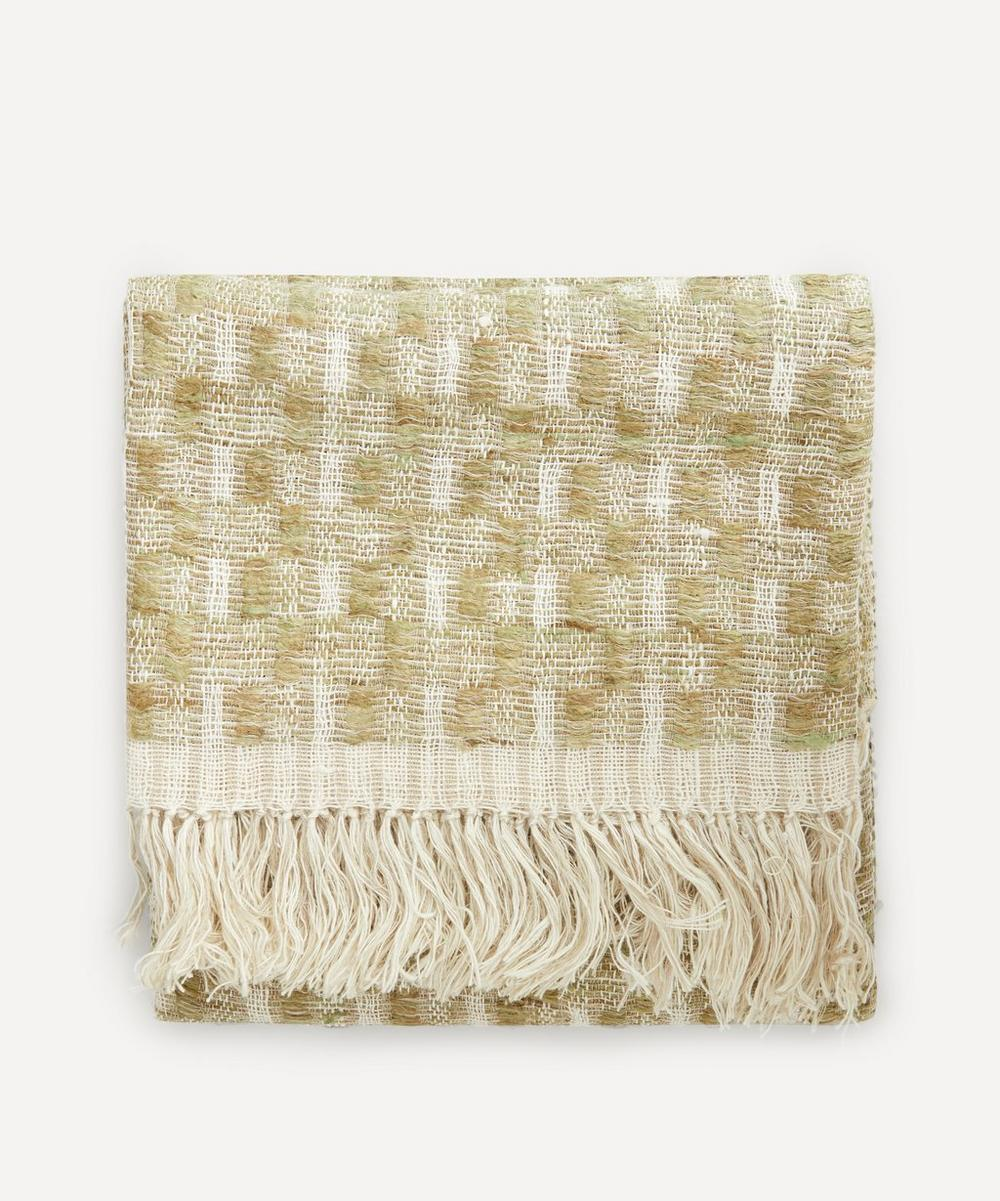 Soho Home - Celio Linen and Silk-Blend Throw