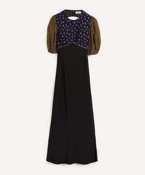 Delilah Cap-Sleeve Floral Print Dress