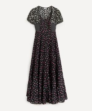 Tamara Cap-Sleeve Cotton Dress