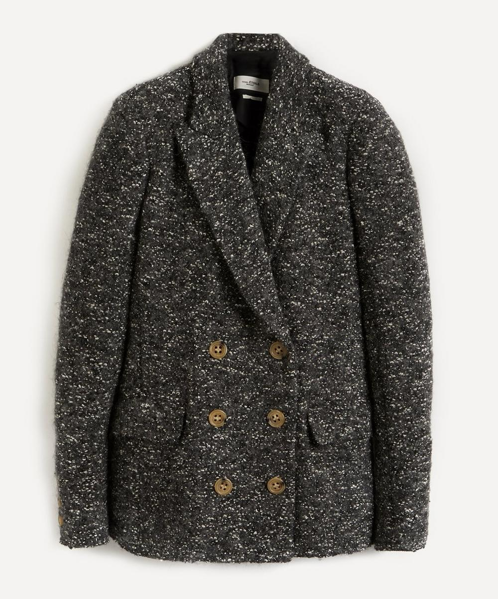 Isabel Marant Étoile - Hendac Double-Breasted Bouclé Jacket