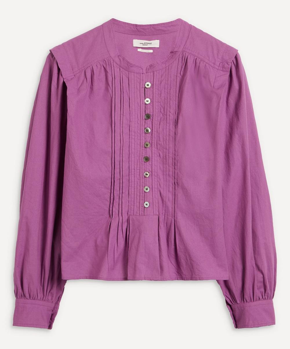 Isabel Marant Étoile - Okina Button-Up Poplin Top
