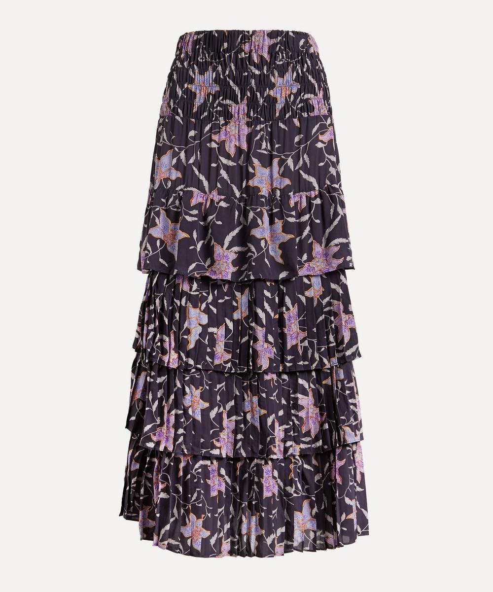 Isabel Marant Étoile - Orfeo Tiered Floral Skirt