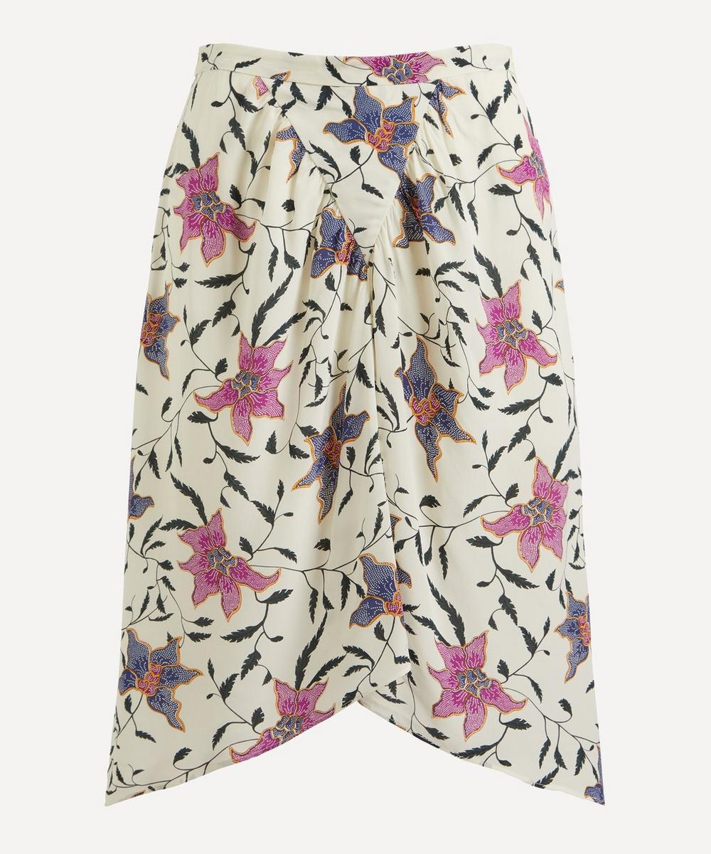 Isabel Marant Étoile - Omaly Gathered Floral Skirt