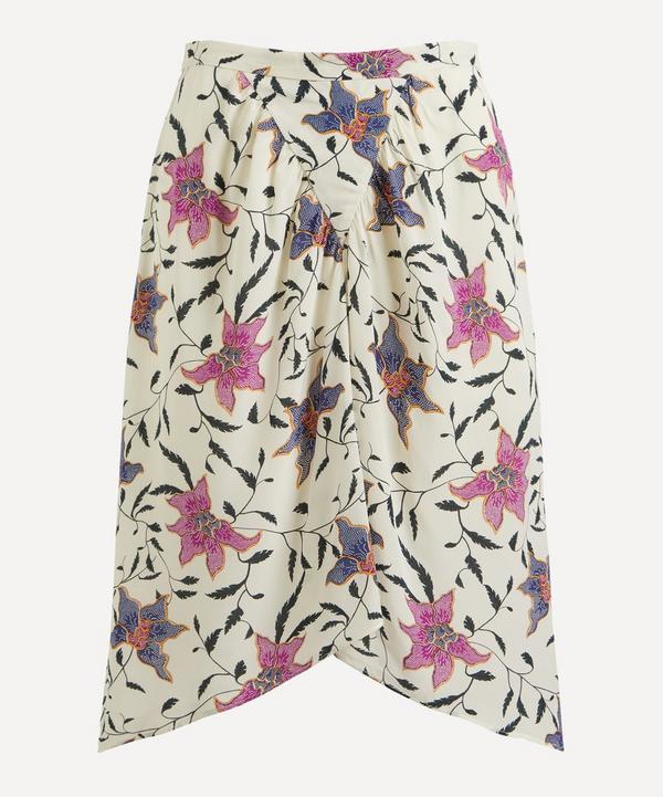 Isabel Marant Étoile - Omaly Gathered Floral Skirt