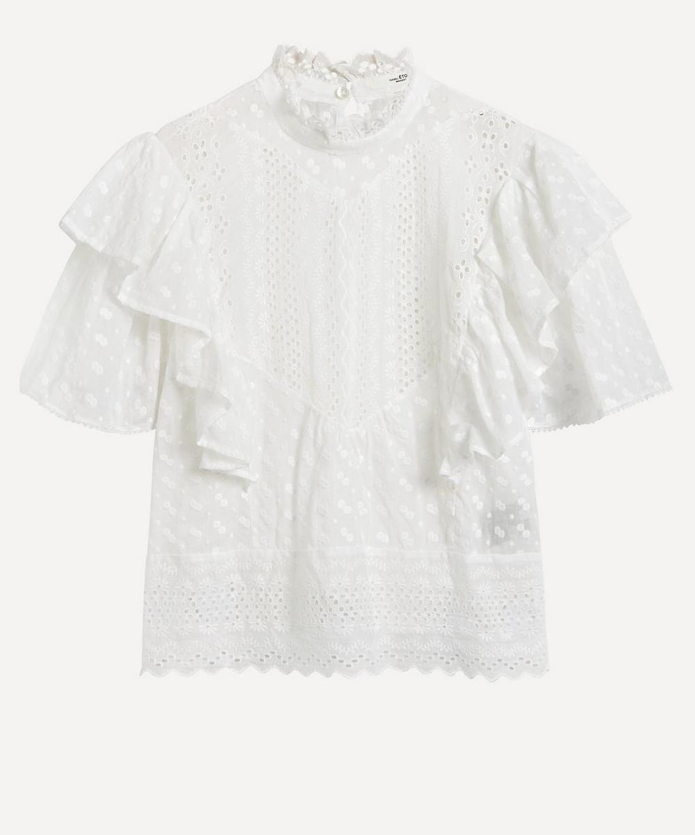 Isabel Marant Étoile - Tizaina Embroidered Top