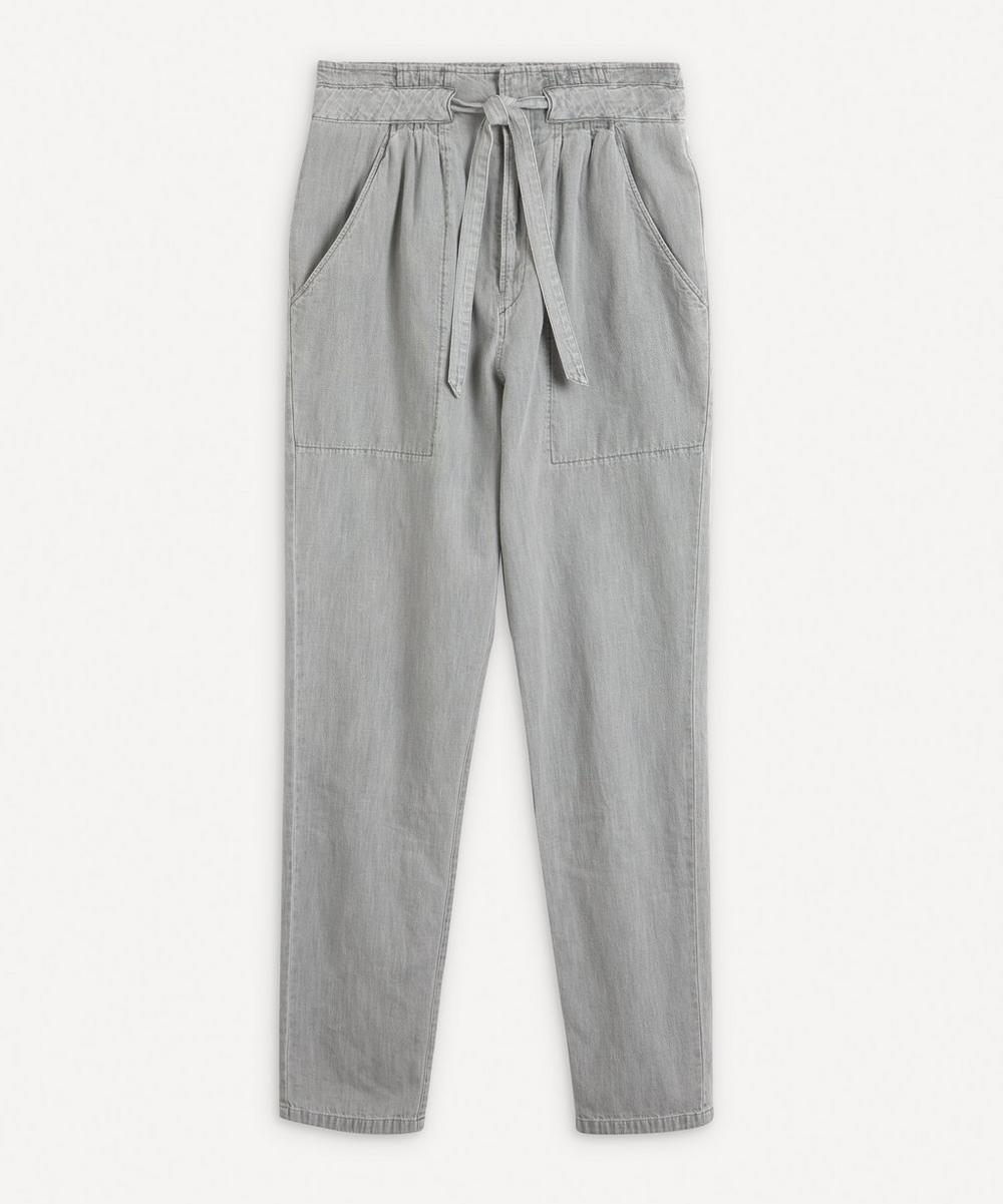 Isabel Marant Étoile - Muardo Tapered Drawstring Trousers