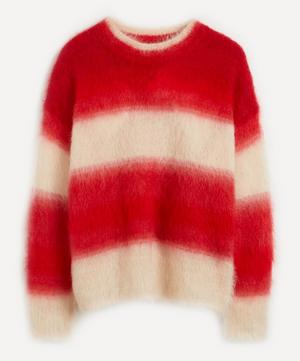 Drussell Gradient Brushed Mohair Jumper