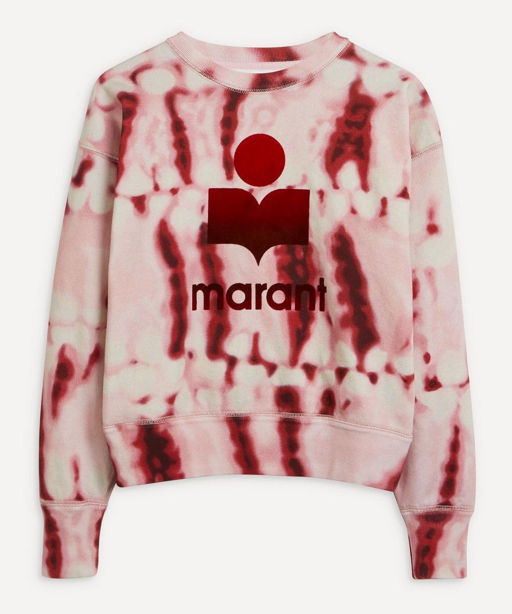 Isabel Marant Étoile - Mobyli Tie-Dye Logo Sweatshirt