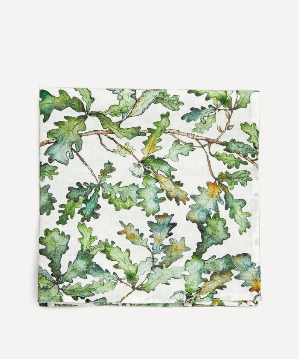Bertioli by Thyme - Oak Leaf Printed Napkin 50 x 50cm