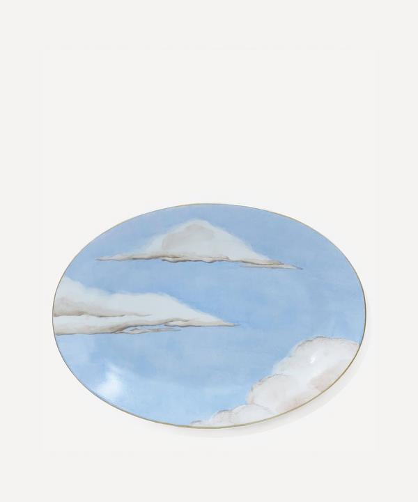 Jonathan Hansen x Marie Daâge - Ciels Bleus Oval Platter