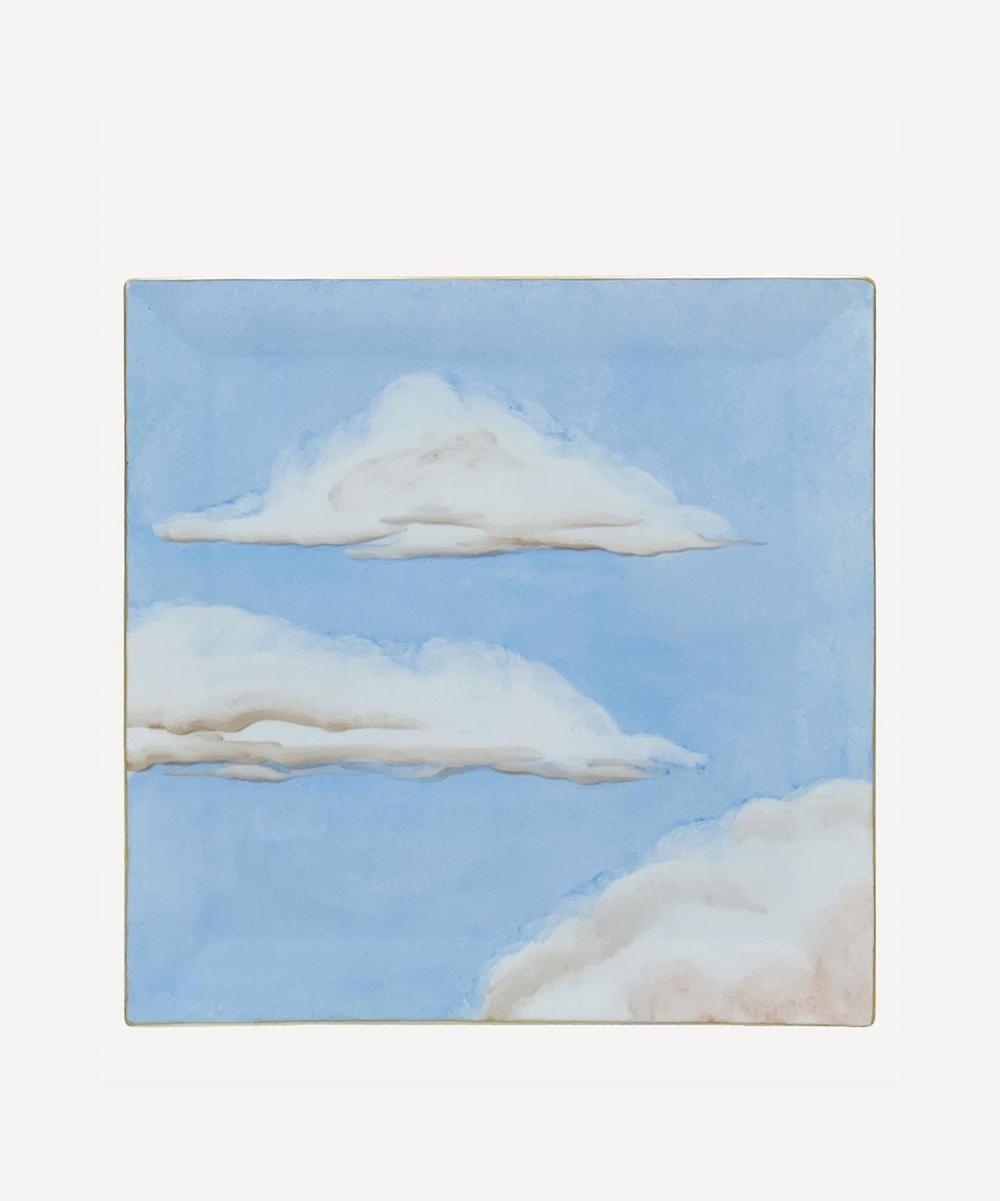 Jonathan Hansen x Marie Daâge - Ciels Bleus Square Tray