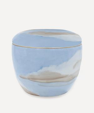 Ciels Bleus Round Box