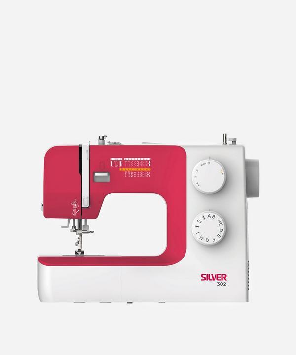 Silver - Silver 302 17-Stitch Mechanical Sewing Machine