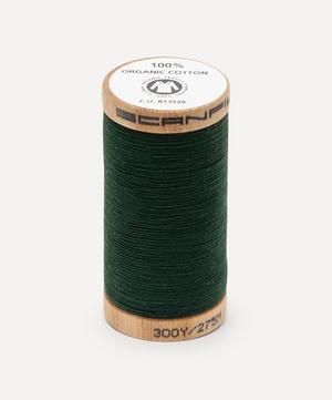Dark Green Organic Cotton Thread