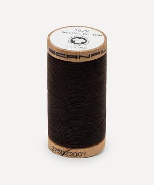 Very Dark Brown Organic Cotton Thread
