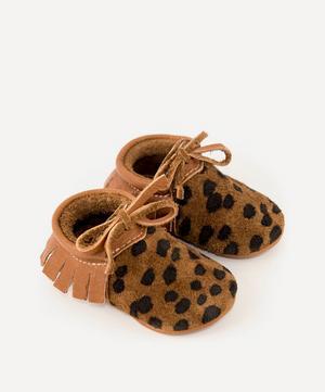 Cheetah Moccasins 0-24 Months