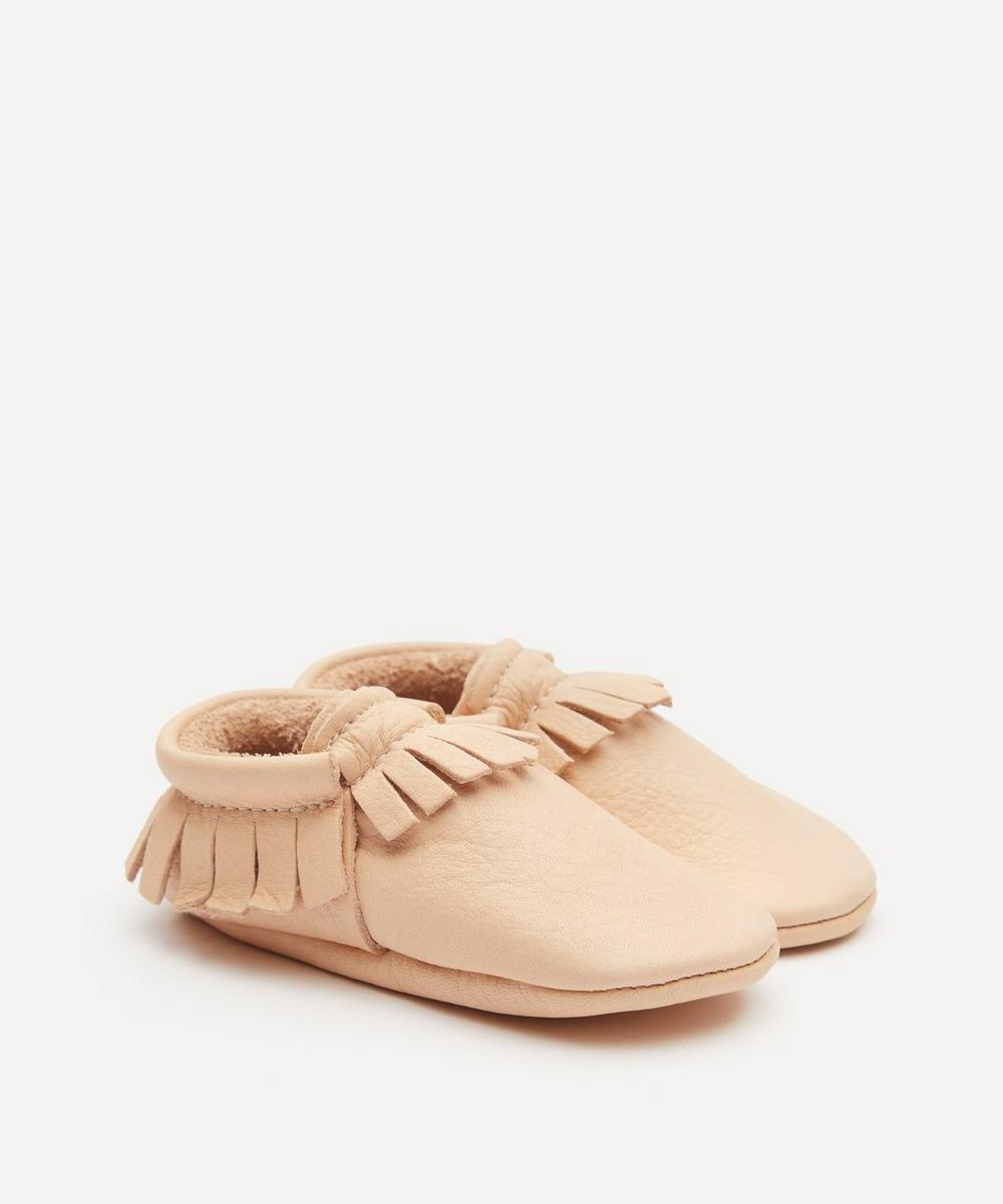 Amy & Ivor - Natural Moccasins 0-24 Months