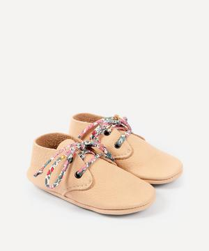 Natural Travellers with Liberty Print Laces 3-24 Months