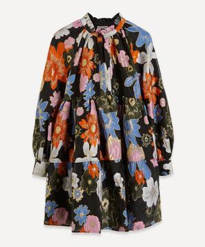 Botanical Print Jasmine Mini-Dress