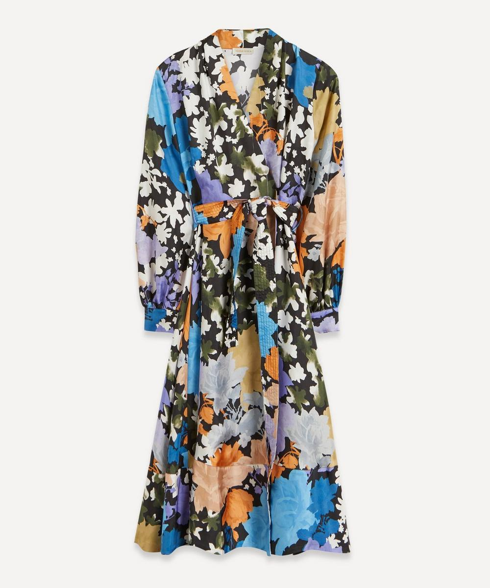 Stine Goya - Reflection Silk Wrap-Dress