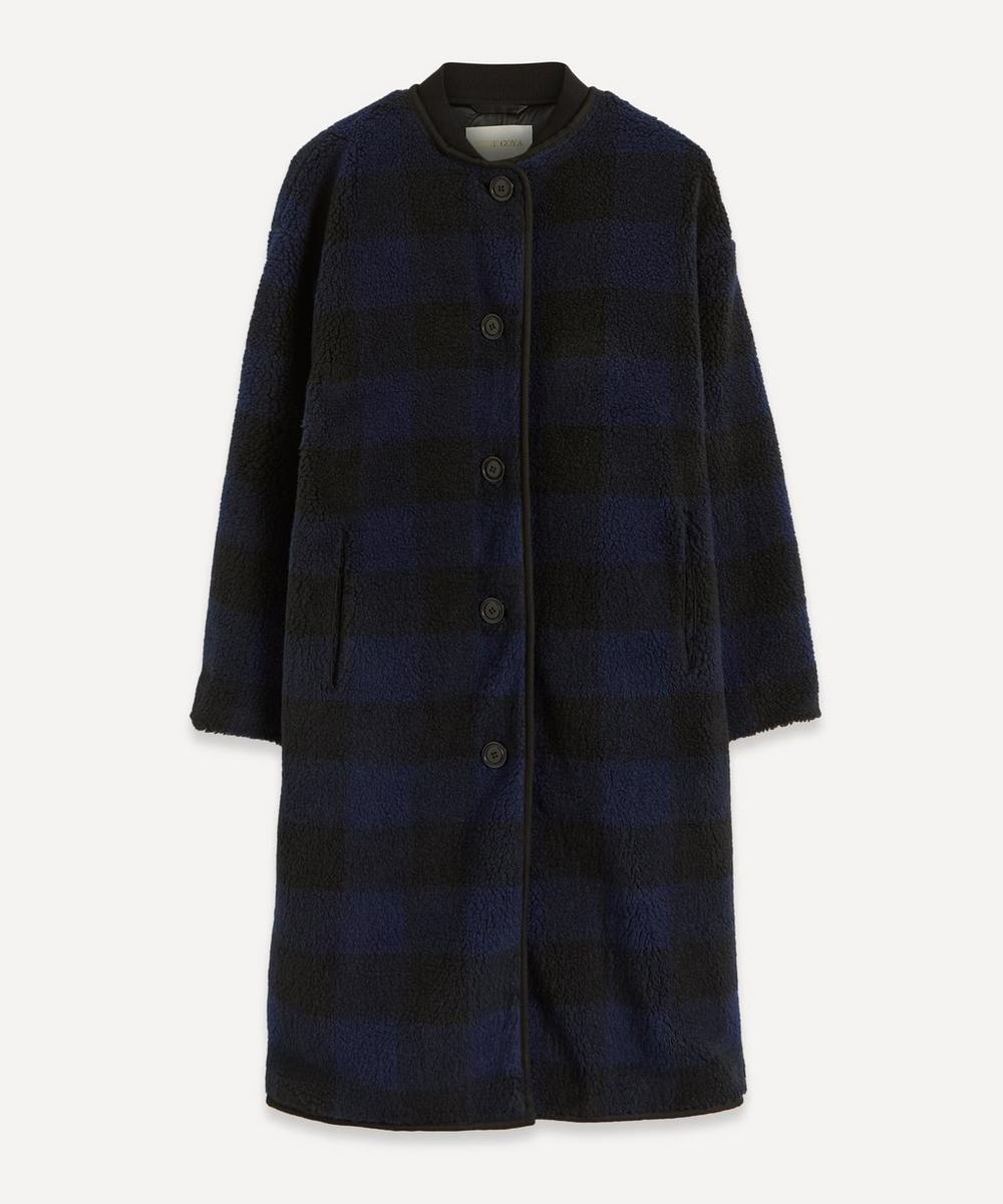 Stine Goya - Beth Gingham Fleece Coat