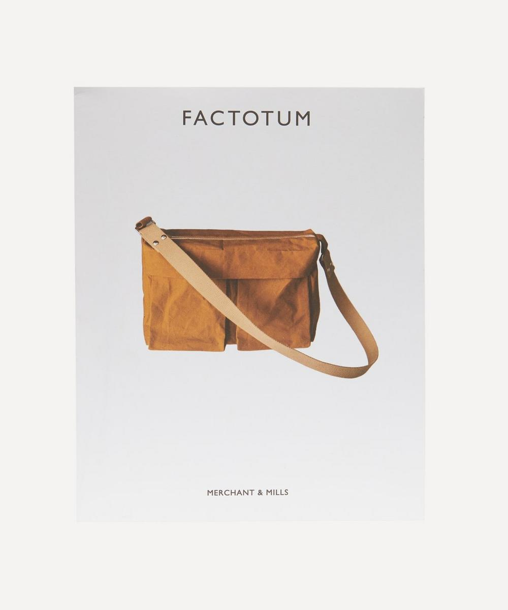 Merchant & Mills - The Factotum Bag Sewing Pattern