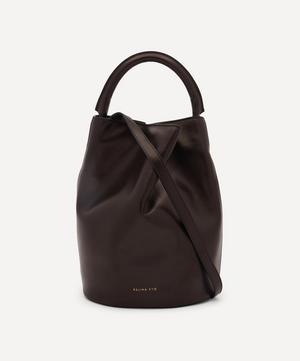 Joni Leather Bucket Bag