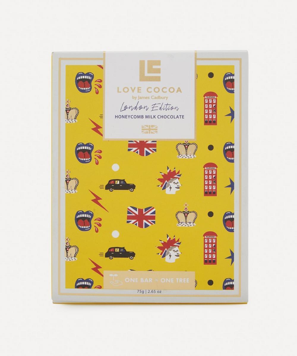 Love Cocoa - London Edition British Honeycomb Milk Chocolate Bar 75g