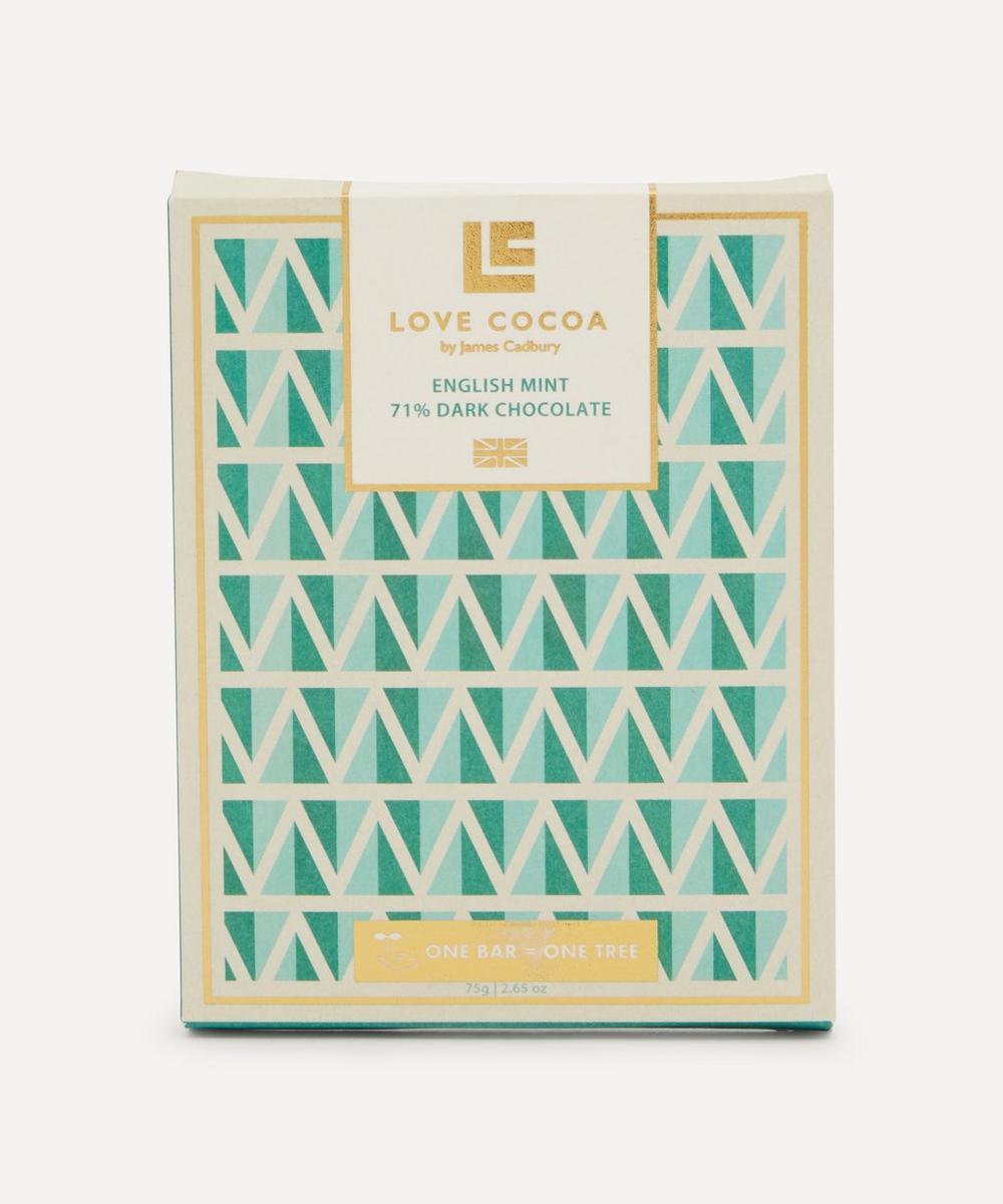 Love Cocoa - London Edition English Mint Dark Chocolate Bar 75g