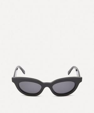 Acetate Show Wayfarer Sunglasses