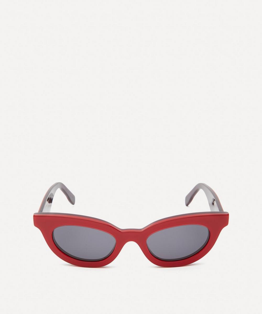 Marni - Acetate Show Wayfarer Sunglasses